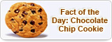 Fact of the Day: Chocolate Chip Cookie