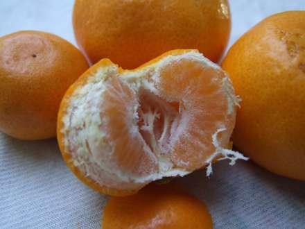 نارنگي پوست کنده شده
