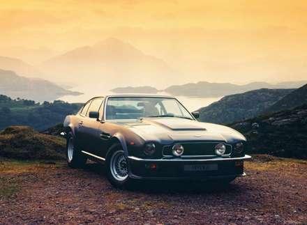 نماي اتومبيل استون مارتسن  - V8- 1977-Vantage-