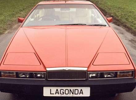 نماي  سپر و کاپوت جلوي اتومبيل استون مارتين  Lagonda-1976
