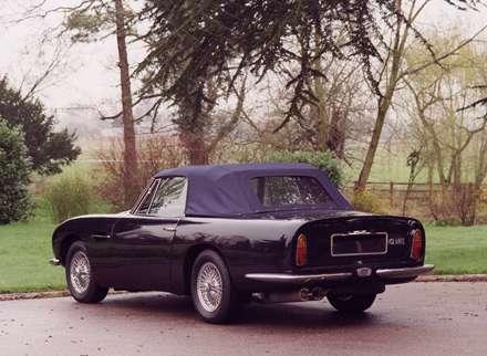 نماي اتومبيل استون مارتين  DB6-Volante-1966