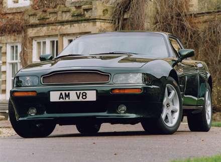 نماي  سپر و جلوبندي اتومبيل استون مارتين  V8 کوپه-1996