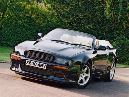 نماي سپر و جلوبندي  اتومبيل استون مارتين V8 Vantage  Volante- LWB-1992