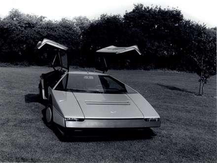 نماي درب هاي اتومبيل استون مارتين  Bulldog-1980-Concept-