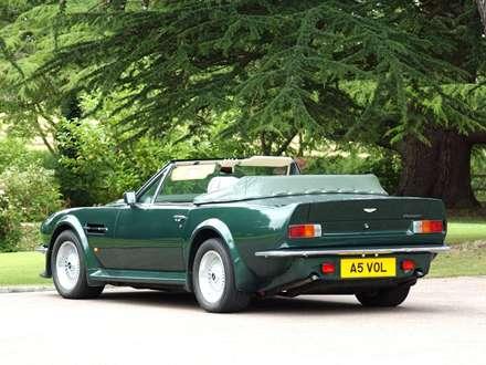 نماي اتومبيل استون مارتين  V8-Vantage-Volante-1986