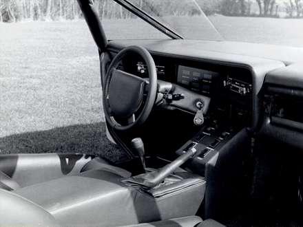 نماي  سيستم فرمان و داشبرد اتومبيل استون مارتين  Bulldog-1980-Concept-
