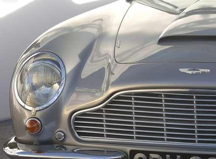 نماي  سپر و چراغ جلوي اتومبيل استون مارتين SWB-1966 DB6-Volante-