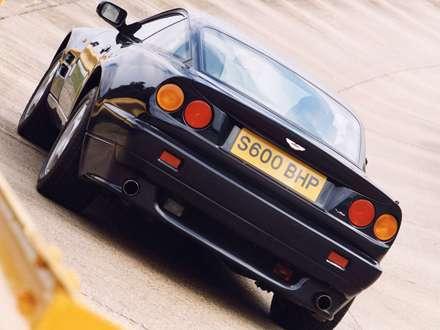 نماي سپر و صندوق عقب  اتومبيل استون مارتين- Vantage -1992 V8-