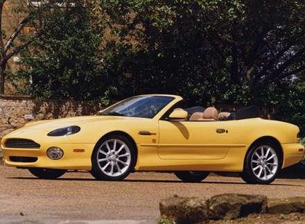 نماي اتومبيل استون مارتين DB7 Vantage-Volante-2001