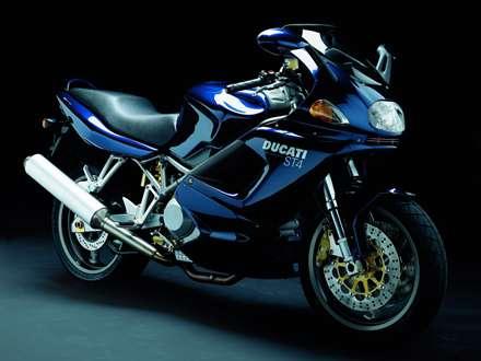 موتور سيکلت دوکاتي آبي مدل st4s