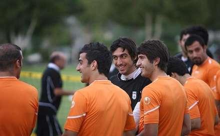 گزارش تصویری از تمرین تیم ملی ایران