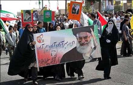 راهپیمایی یوم الله روز جهانی قدس در شهر قم