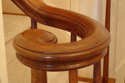 نرده ی چوبی