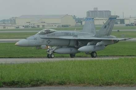 هواپیمای جنگنده F-18A Hornet