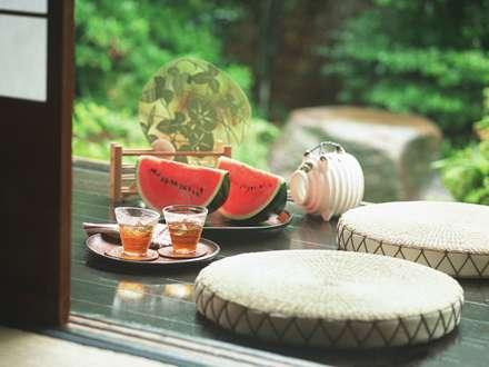 خوردن هندوانه وشربت درفضای باز
