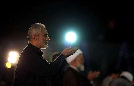 مسجد مقدس جمکران در شب نیمه شعبان