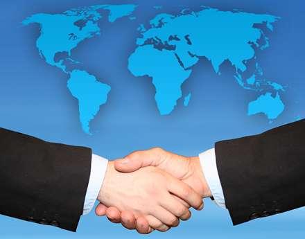 تجارت دوستانه با کشورهای مختلف