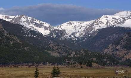 کوه های برفی