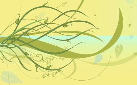 شاخه هایی در باد