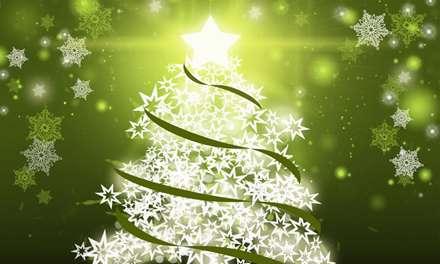 درخت کریسمس ستاره باران