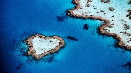 جزیره ای به شکل قلب