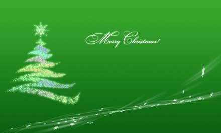 درخت کریسمس درخشان
