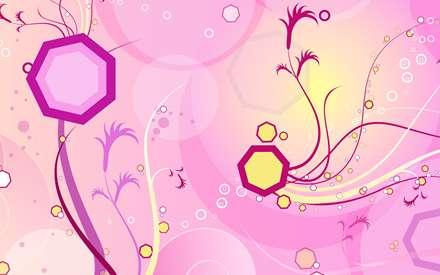 هفت ضلعی های رنگی