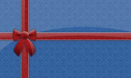 جعبه کادو آبی