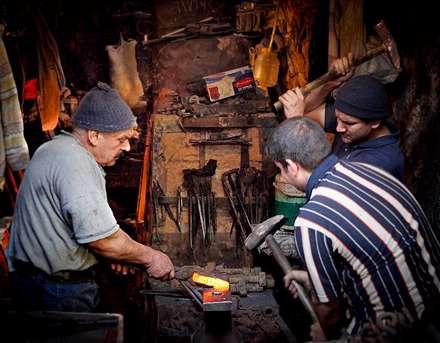 آهنگری در دوران قدیم