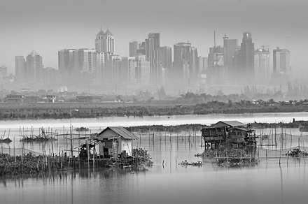 فضای شهری آلوده