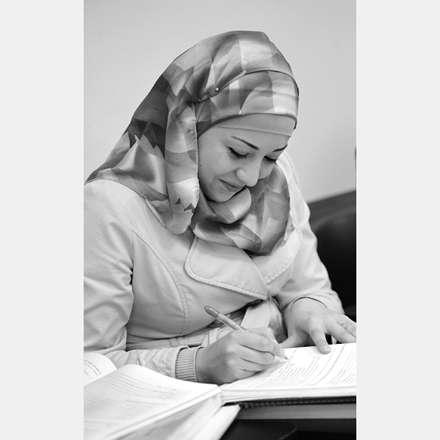 دانشجوی با حجاب