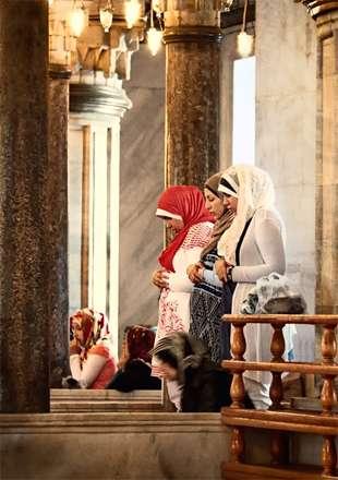 رنگ ایمان در نماز