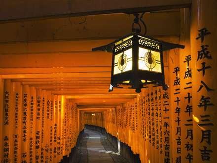 راهرو معبدی در ژاپن