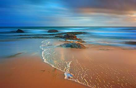 خط موج بر ساحل