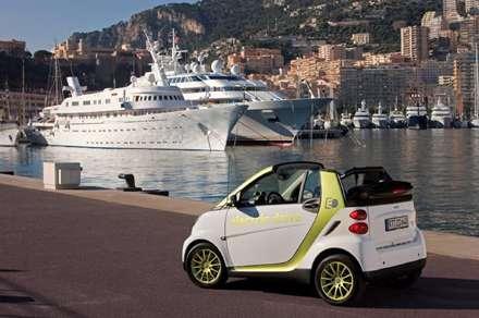 خودرو الکتریکی فورتوو سفید