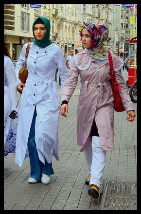 خانم های با حجاب