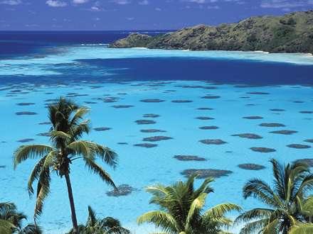 نمای دریا از جزیره گامبیر