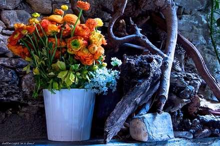 گلدان پرگل