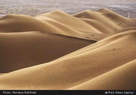 کویر مرنجاب استان اصفهان