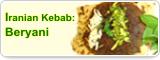 Iranian Kebab: Beryani