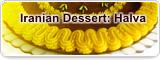 Iranian Dessert: Halva
