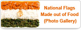 National Flags Made out of Food (Photo Gallery)