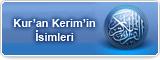 Kur'an Kerim'in İsimleri