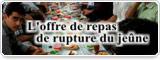 L'offre de repas de rupture du jeûne