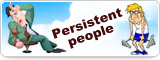 Persistent people