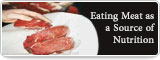 Eating Meat as a Source of Nutrition
