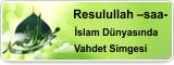 Resulullah –saa- İslam Dünyasında Vahdet Simgesi