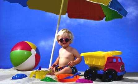 عینک آفتابی در کودکان