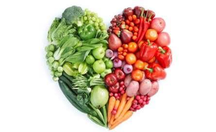 سلامت قلب با میوهها و سبزیجات