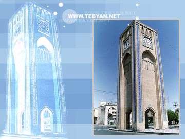 برج ساعت تبريز